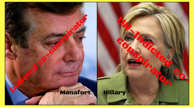 The Manafort indictment, then insanity ensues!!!