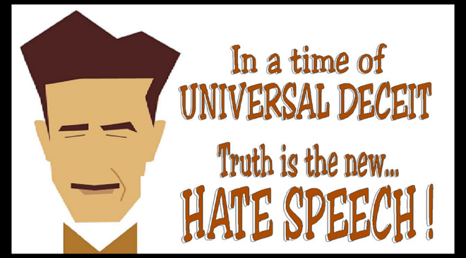 Hate and Hate speech are subjective ideas!!!
